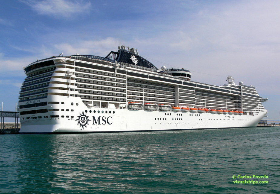 MSC Fantasia Ship
